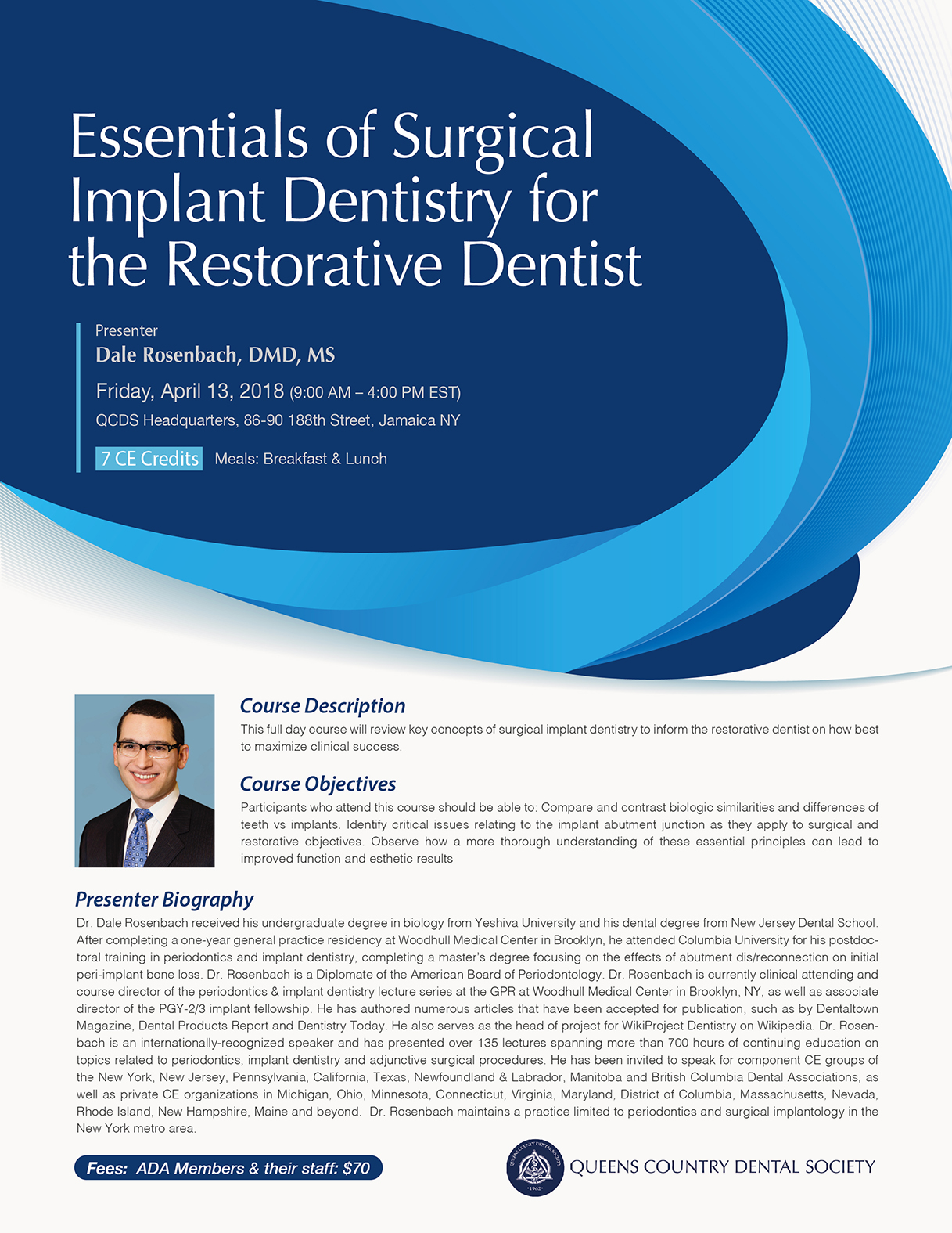 Essentials of Surgical Implant Dentistry for the Restorative Dentist